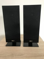 T101 *schwarz* - 2 x Ultraflache Designlautsprecher