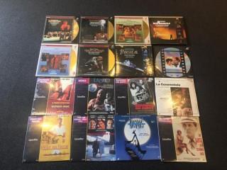Laserdisc Sammlung -Lageraktion-